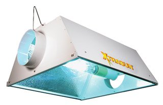 HydroFarm Xtrasun White Air Coolable Grow Light Reflector