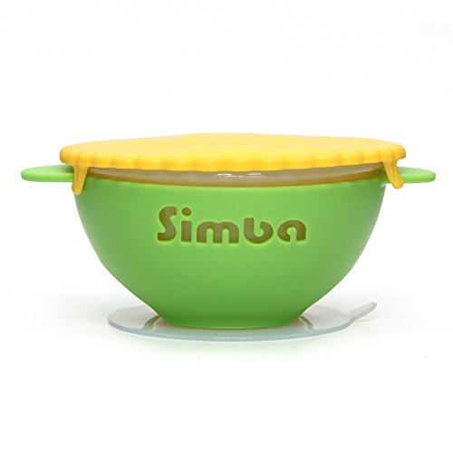 Simba Silicone Suction Bowl (Magic Rainbow series, Green)