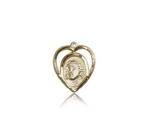 14kt Gold Ecce Homo Medal changxing jewelry 6x8mm 14kt