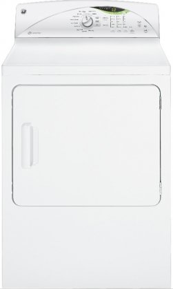 7.0 Cu. Ft. Capacity Stainless Steel Electric Dryer with HE Sensor Dry - White