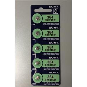 Sony Sr621Sw 1.55V Silver Oxide Battery (5Pcs Per Pack) front-69515