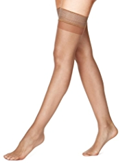 7 Denier Bare Cooling Ladder Resist Sheer Hold-Ups