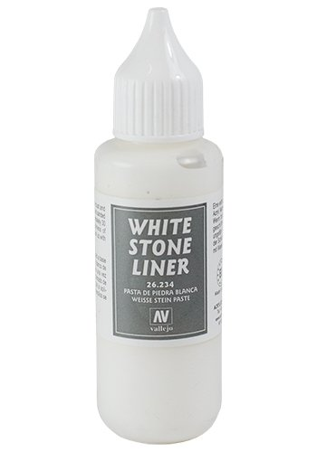 Vallejo White Stone Liner, 35ml - 1