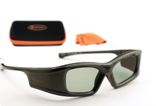 MITSUBISHI-Compatible 3ACTIVE ® 3D Glasses. For Use with External IR Emitter. Rechargeable.
