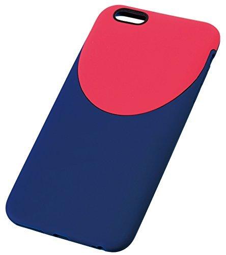 トレードワークス 2ToneStyle for iPhone6 Plus ネイビー×レッド TD-2015-006