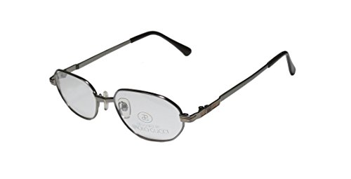 New & Season & Genuine - Brand: Paolo Gucci Style/model: 8109 Gender: Mens/Womens Vision Care Highest Quality Designer Full-rim Eyeglasses/Glasses (52-18-140, Gunmetal / Gray) (Gucci Hair Brush compare prices)