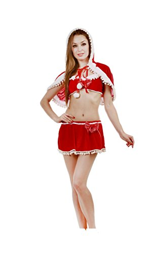 JUNPAI Women's Santa Skirt Set223