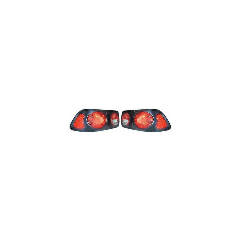 96 98 HONDA CIVIC ALTEZZA RED TAIL LIGHT, one set (left