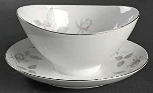 Narumi Glenora Gravy Boat with Underplate and Ladel