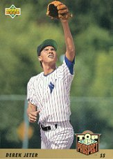 1993 Upper Deck # 449 Derek Jeter RC - New York Yankees Rookie Baseball Card In... by Upper+Deck