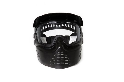 Tactical Paintball Vice City Ep 1: Tactical Crusader ProTac Airsoft/Paintball Mask, Black