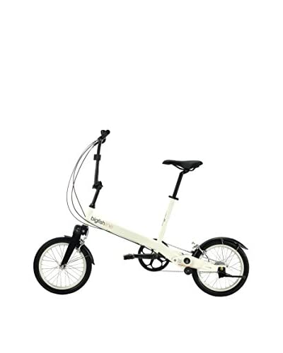 Bigfish Folding Bicicleta Plegable Line 3 Speed Tw4 Blanco