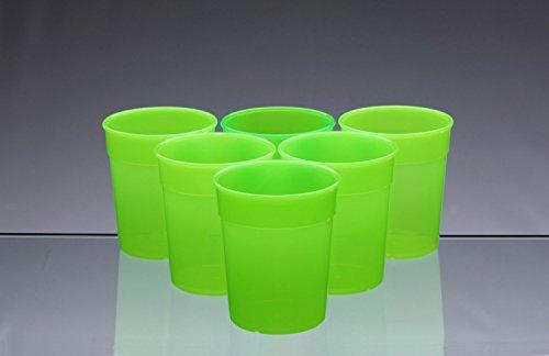 bicchieri-in-plastica-impilabili-adatti-per-lavaggio-in-lavastoviglie-set-da-6-verde-fosforescente-2