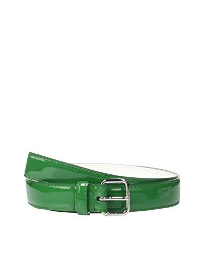 Dolce & Gabbana Cinturón Piel Verde