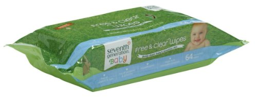Seventh Generation Free and Clear Baby Wipes Refill Pack
