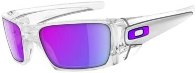 Oakley Fuel Cell Men's Sunglasses polished clear/violet iridium Size:Uni