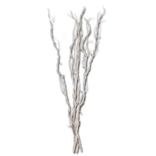 Oddity 94510 Premium White Branch Bunch With White Led'S, Battery Operated, 38-Inch