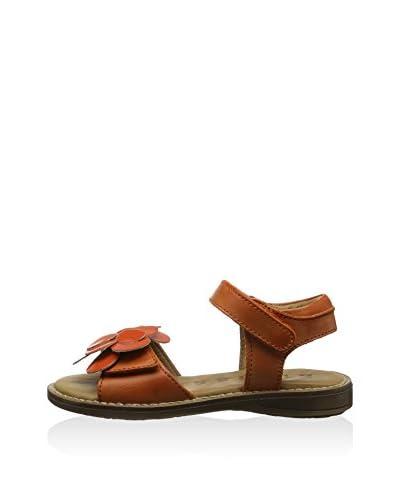 Bisgaard Sandalo Flat [Arancione]