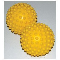 Genuine FitBALL Soft Nub Sensory Massage Balls - 10cm (Set of 2)