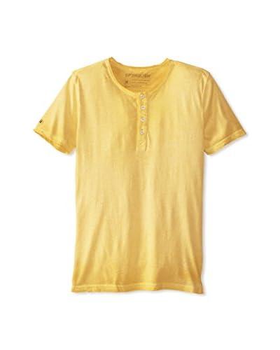 Spenglish Men's Basic Short Sleeve Henley