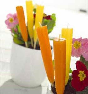 Lemon Scented Garden Candles