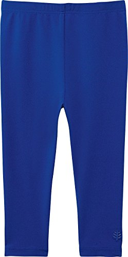Coolibar UPF 50+ Baby Swim Tights - Sun Protective,18 Months, Blue Wave