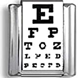Eye Chart Italian charm