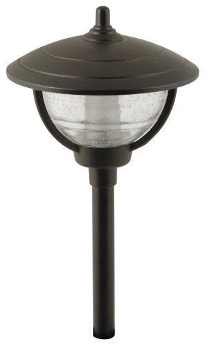 Moonrays 95816 Auburn Style Low Voltage Metal Path Light, 10-Watt Lamp at Amazon.com