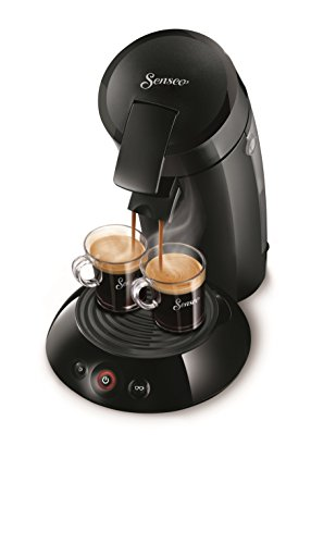 Senseo Philips New and Improved Original Coffee Pod, Coffee Maker Machine 2016, Black