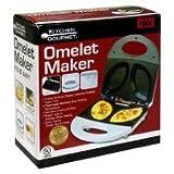 Omelet Maker, White Electric Non-stick