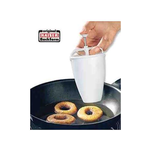 kaiser backform donut maker kunststoff weiss 660714. Black Bedroom Furniture Sets. Home Design Ideas