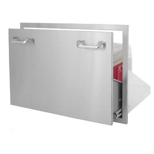 Bbqguys.Com Kingston Series 30 Inch Roll-Out Ice Chest Storage Drawer front-450058