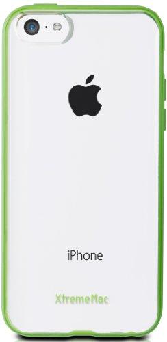 XtremeMac Microshield Accent Cover con bordo gommato peri Phone 5C verde