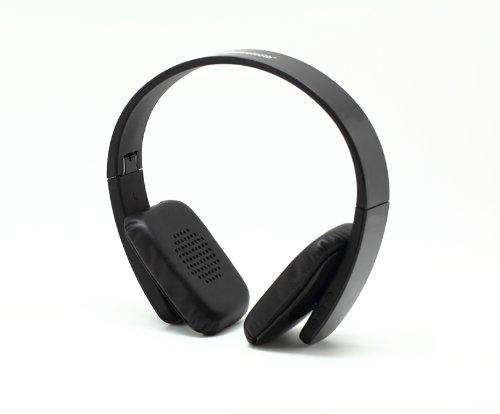 Black Folding Wireless Bluetooth V4.0 Stereo Universal Headset Headphone