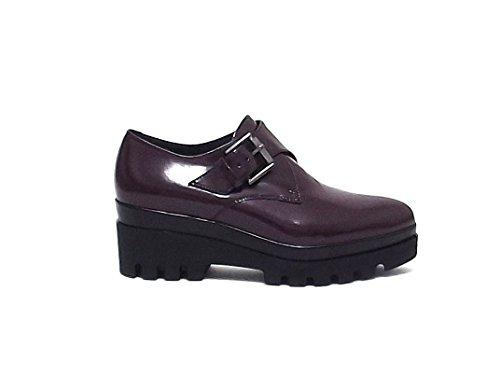 Janet sport donna, articolo 38783, scarpa pelle, bordò nr 37 A6102