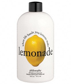 philosophy - old-fashioned lemonade - shampoo, shower gel and bubble bath