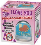 Darice Design an Acrylic Photo Ball With Rubber Stopper - 1