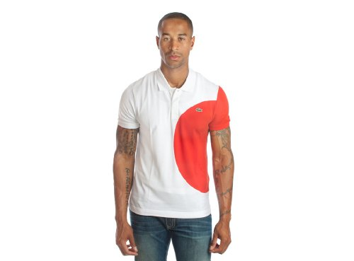 Lacoste Short Sleeve Pique Japan Flag Polo (XL)