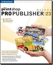 Encore Print Shop 23 Pro Publisher Deluxe [Old Version]