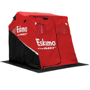 Eskimo 11427 Flipmo2 2 Person Flip-Style Portable Ice Fishing Shelter