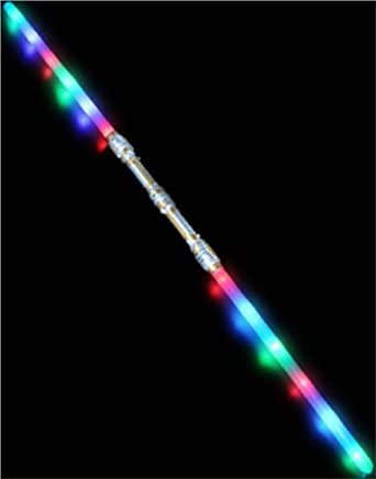 "52"" LED Double Bladed Dual Sith Lightsaber Saberstaff"