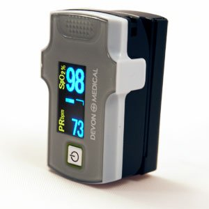 MD300C3 Pulse Oximeter with Audible & visual alarm, Dual color OLED display and 6 display modes FDA and Health Canada Approved