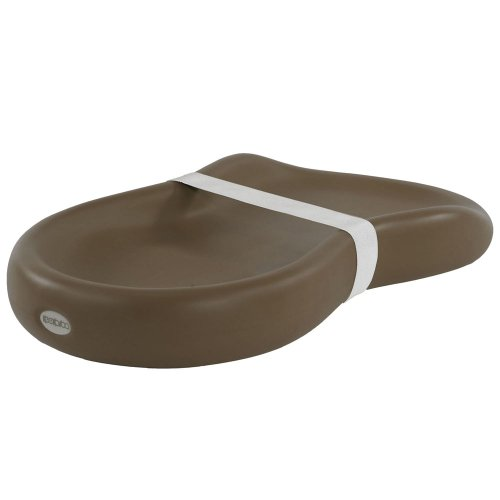 Keekaroo Peanut Diaper Changer, Solid Chocolate