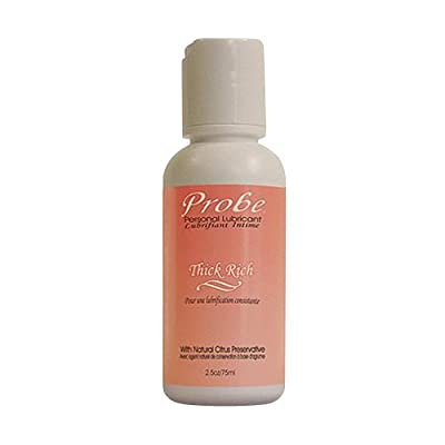 Probe Natural Lubricant Classic Thick Rich 75ml Natural-feel, PH Neutral Anal Lube: Travel or Tester Size