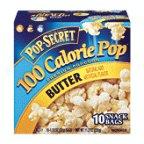 Pop-Secret 100 Calorie Butter Flavored Popcorn Snack Bags - 10 Ct 11.2 Oz (Pack Of 6)