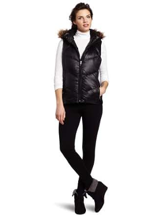 Calvin Klein Performance Women's Puffy Down Vest Jacket, Black, Medium