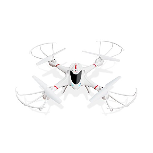 DBPOWER MJX X400W FPV RC Quadcopter Drone with Wifi Camera Live Video One Key Return Function Headless Mode 2.4GHz 4 Chanel 6 Axis Gyro RTF, Compatible with 3D VR Headset