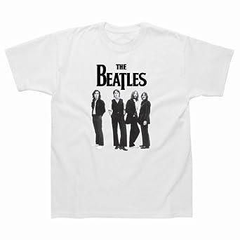 Spike Herren T-Shirt The Beatles, weiß, Gr. M