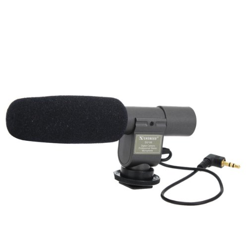 Sg-108 Stereo Shotgun Microphone For Camcorder Camera