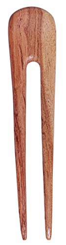 Mary Crafts Wooden Simple Hair Fork, Hairfork, Hair Pin, Hairpin, Hair Accessory, Hair Toy Handmade (Wood Hair Fork compare prices)